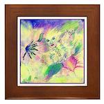 Hidden Fairy Fantasy Art Framed Tile