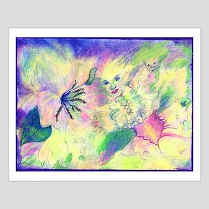 Hidden Fairy Fantasy Art Small Poster