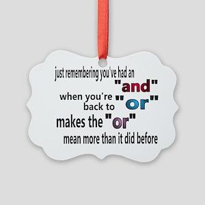 andandor1 Picture Ornament