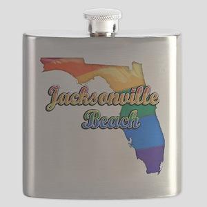 Jacksonville Beach Flask
