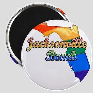 Jacksonville Beach Magnet