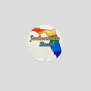 Jacksonville Beach Mini Button