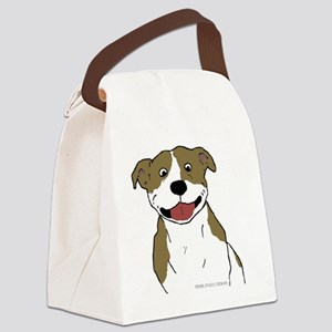 Pit Smile Tan 4x4 Canvas Lunch Bag