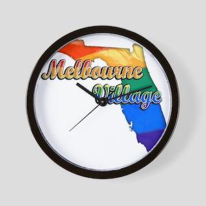 Melbourne Village Wall Clock
