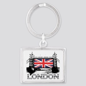 towerbridge 3 Landscape Keychain