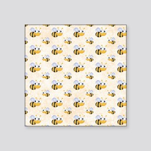 "bee22.gif Square Sticker 3"" x 3"""