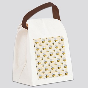 bee22 Canvas Lunch Bag