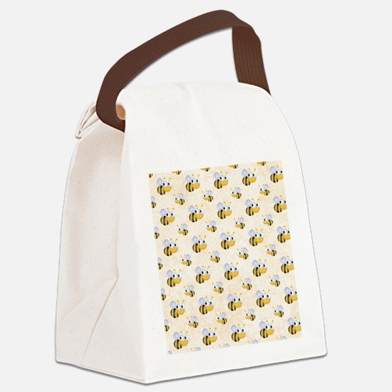 bee22.gif Canvas Lunch Bag