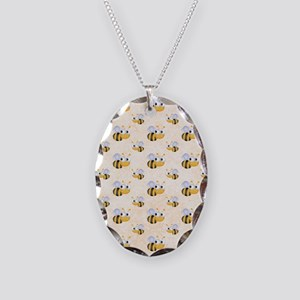 bee22 Necklace Oval Charm