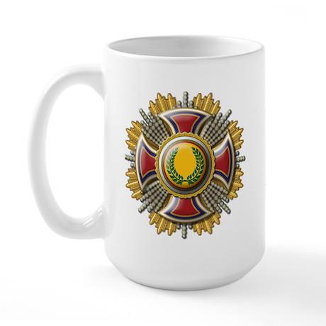 Grand Cross Laurel Large Mug