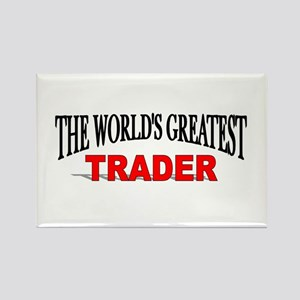 """""""The World's Greatest Trader"""" Rectangle Magnet"""