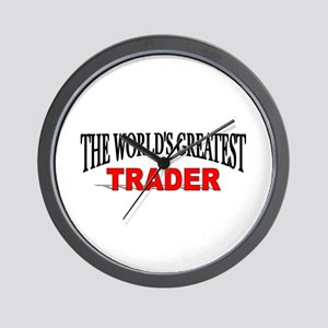 """""""The World's Greatest Trader"""" Wall Clock"""