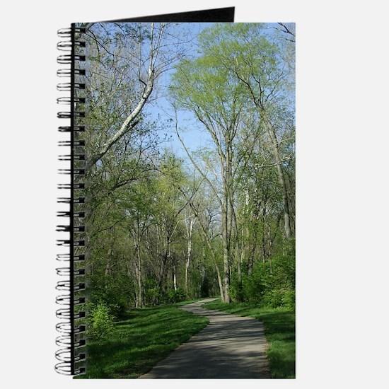 SpringMiamiRiverBikeTrailMiniPoster Journal