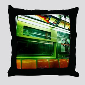 Staten Island Ferry South Ferry Stati Throw Pillow