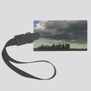 Staten Island Ferry Leaving NYC Large Luggage Tag