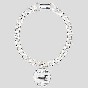 Loonie-7 copy Charm Bracelet, One Charm