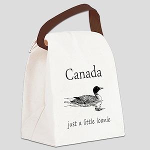 Loonie-7 copy Canvas Lunch Bag