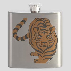 tiger orange Flask