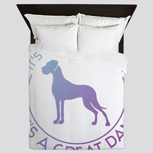 Not just a dog Queen Duvet