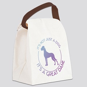 Not just a dog Canvas Lunch Bag