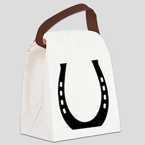 horse_shoe Canvas Lunch Bag