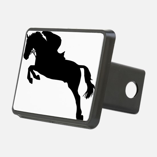 horse_showjumping Hitch Cover