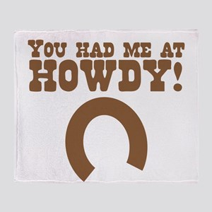 You had me at HOWDY! cute cowboy of cowgirl design
