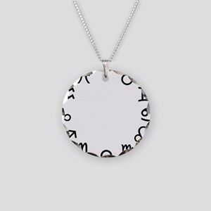 zodiac_all_circle Necklace Circle Charm