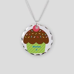 Cupcake4Name Necklace Circle Charm