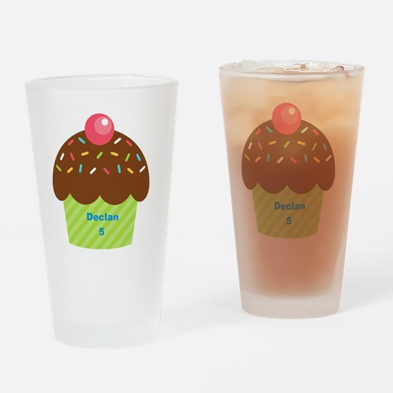 Cupcake4Name Drinking Glass