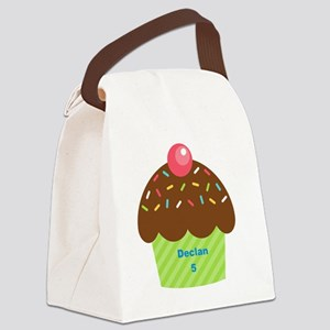 Cupcake4Name Canvas Lunch Bag