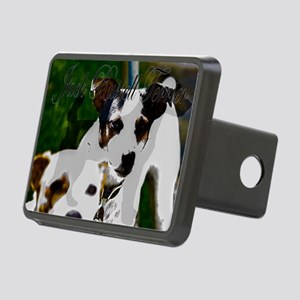 Jack Russell Terrier Rectangular Hitch Cover