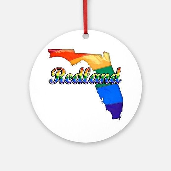 Redland Round Ornament
