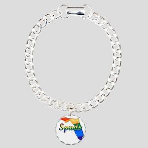 Spuds Charm Bracelet, One Charm