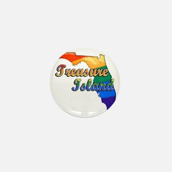 Treasure Island Mini Button