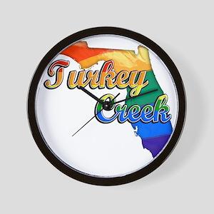 Turkey Creek Wall Clock