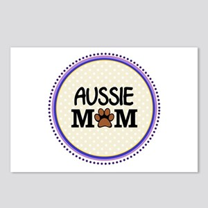 Aussie Dog Mom Postcards (Package of 8)