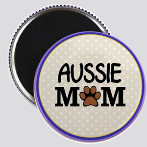 Aussie Dog Mom Magnets