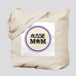 Aussie Dog Mom Tote Bag