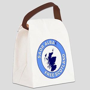 Saor Alba Free Scotland Canvas Lunch Bag