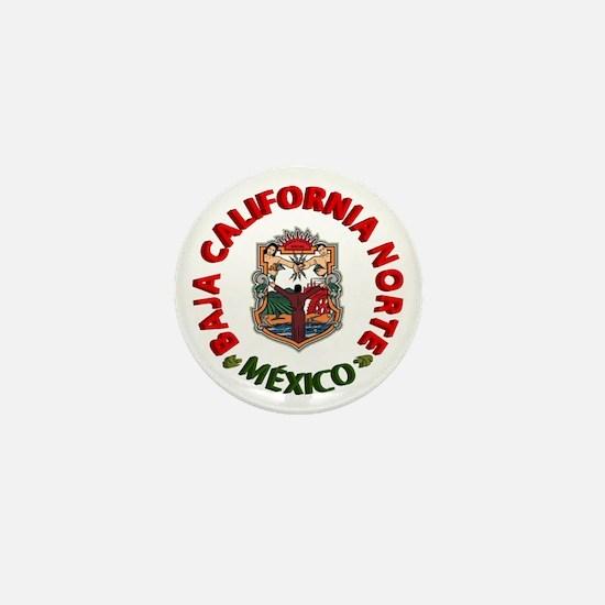 Baja California Mini Button