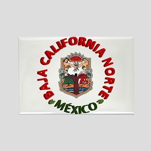 Baja California Rectangle Magnet
