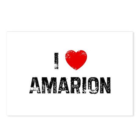 I * Amarion Postcards (Package of 8)