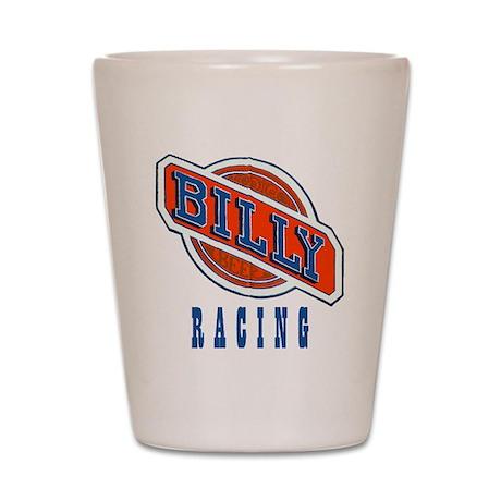 Billy Racing Logo Shot Glass