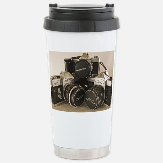 pngtrioface Stainless Steel Travel Mug