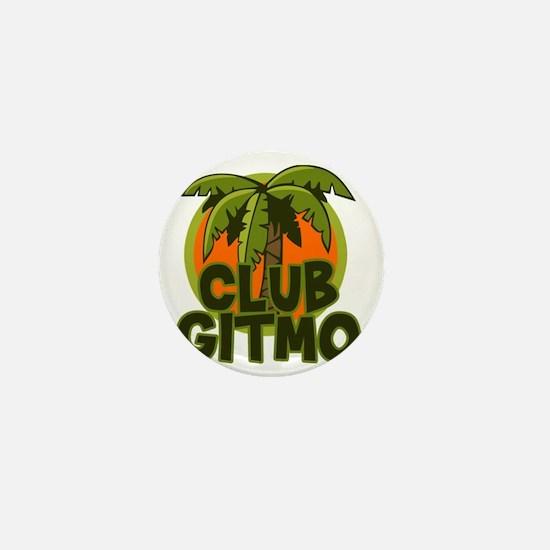 Club Gitmo Mini Button