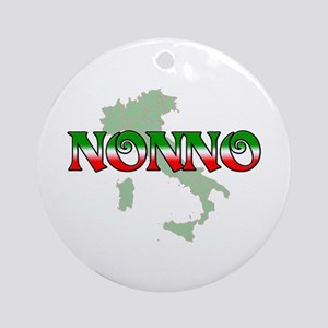 Nonno Ornament (Round)