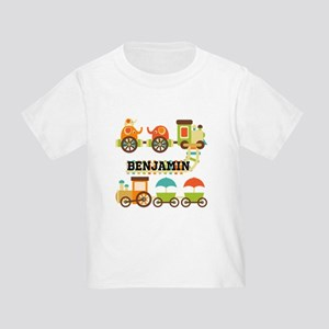 Customized Train Toddler T-Shirt