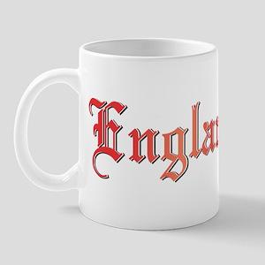 England COA Bumper Sticker Mug