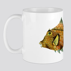 Orange and Blue Fish - Cowfish - Tetros Mug